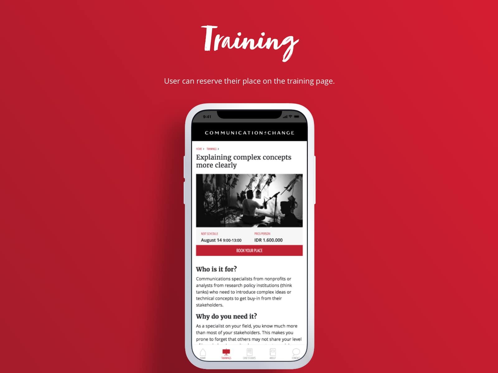 <p>Training</p>
